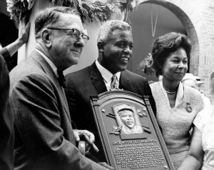 Jackie Robinson Hall of Fame Induction
